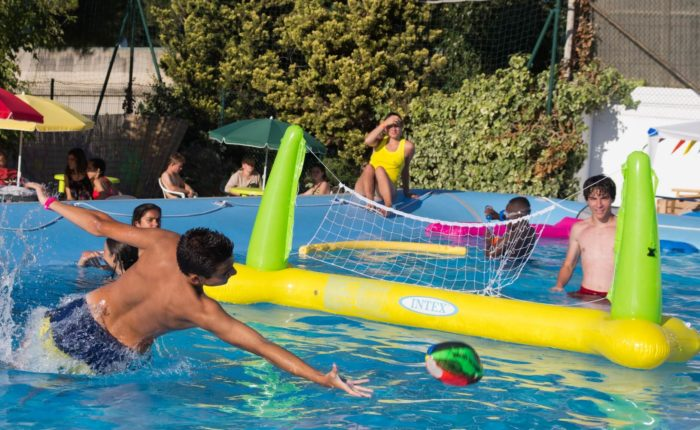 French summer camp Antibes